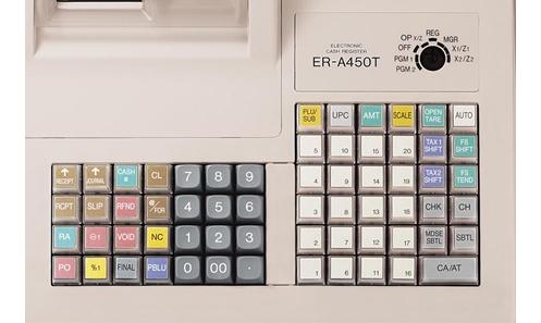 Sharp Er A450t Cash Register