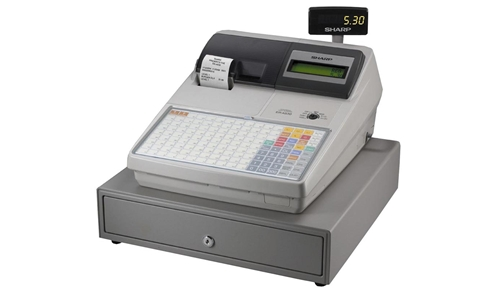 sharp er a320. sharp cash register model er-a530 er a320